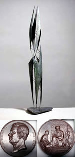 Lyn Chadwick Stabile with Mobile Elements (Maquette for Cypress) 1950, George T Morgan, 'David Roberts'